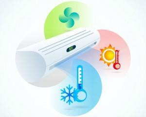 klimaanlæg temperatur